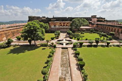 Charbagh Garden At Jaigarh Fort Royalty Free Stock Image