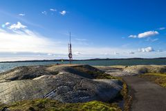 The beautiful west coast of Sweden. royalty free stock photos