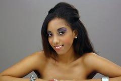 Beautiful West-Indian Teen Girl (3) Stock Photos