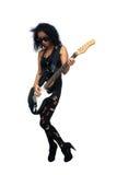 Beautiful West-Indian Teen Rocker (1) Stock Image