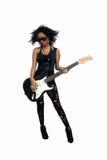 Beautiful West-Indian Teen Rocker (2) Royalty Free Stock Photo