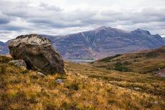 Beautiful Wester Ross mountains and Loch Torridon, Scotland, UK Stock Photos