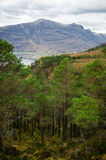 Beautiful Wester Ross mountains and Loch Torridon, Scotland, UK Royalty Free Stock Photo