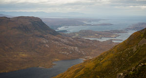 Beautiful Wester Ross mountains and Loch Torridon, Scotland, UK Stock Photography