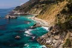 Beautiful Western USA coastline Royalty Free Stock Image