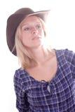 Beautiful western woman Royalty Free Stock Photo