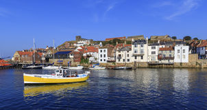 A beautiful at Whitby. Royalty Free Stock Photography