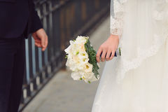 Beautiful White Bouquet Stock Photography