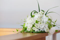 Beautiful white bridal bouquet Royalty Free Stock Photo