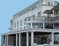 Beautiful white building Royalty Free Stock Photo