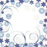 Beautiful White Christmas background Royalty Free Stock Photography