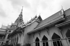 Beautiful white church Royalty Free Stock Image