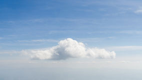 Beautiful white cloud on blue sky Stock Photos