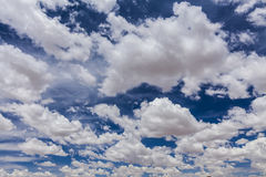 Beautiful white clouds Stock Photo