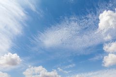 Beautiful white clouds and blue sky 84 stock photo