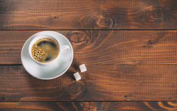 Beautiful white coffee Cup Royalty Free Stock Photography