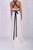 Beautiful white dress Stock Photo