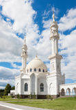 Beautiful White Mosque Royalty Free Stock Image