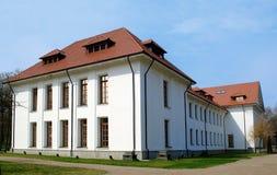 Beautiful white palace royalty free stock images