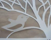 Beautiful white paper pattern royalty free stock photo