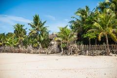 Beautiful white sand beach of Boracay Stock Photo