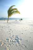 Beautiful white sand beach at Nai Harn Beach, Rawai, Phuket, Thailand Royalty Free Stock Photo