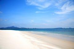 Beautiful white sand beach at Nai Harn Beach, Rawai, Phuket, Thailand Royalty Free Stock Photos