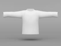 Beautiful white sweatshirt Royalty Free Stock Photos