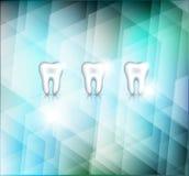 Beautiful white teeth Stock Image