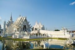 Beautiful white temple. 'Wat Rong Khun' in Chiangrai, Thailand Stock Image