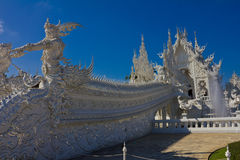 Beautiful white temple royalty free stock image