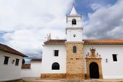Colonial historical cities in Colombia Villa de Leyva royalty free stock photos