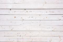 Beautiful white wooden old board Royalty Free Stock Photos