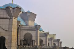 The beautiful Wilayah mosque Royalty Free Stock Photo