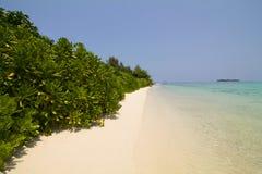 Beautiful wild beach in the karimunjawa archipelago. Indonesia Royalty Free Stock Photo
