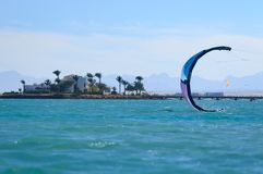 Beautiful wild beach. Sea view, blue lagoon, Red Sea, Egypt, Hurghada.Exploring Egypt, coastal south side, uninhabited islands. Beautiful wild beach. Sea view stock images