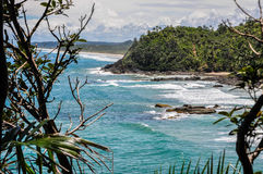 Beautiful wild coastline at Itacare, Bahia, Brazil. South America Royalty Free Stock Images