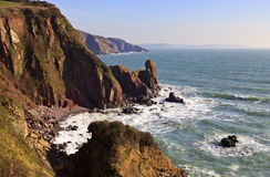 Beautiful, Wild and Rugged Pembrokeshire Coastline Stock Photos