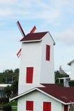 Beautiful wind mill landscape Stock Photos