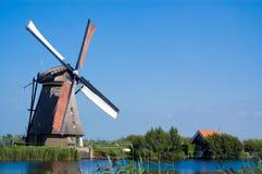 Beautiful windmill landscape Royalty Free Stock Image