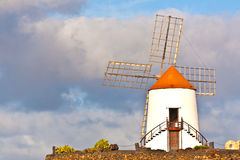 Beautiful windmill Stock Photos