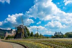 Beautiful windmill Royalty Free Stock Photo