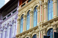 Beautiful window at china town, Singapore Stock Photography