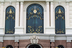 Beautiful window at Grand Palace, Bangkok. Stock Images