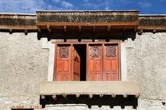 Beautiful window of Leh Palace Royalty Free Stock Photo