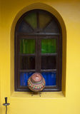 Beautiful window in a Riad of Marrakech Royalty Free Stock Images