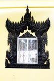 Beautiful window. In temple, Myanmar Stock Photos