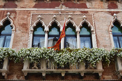 A Beautiful Window in Venice Stock Photo