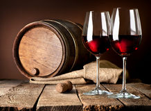 Beautiful wine Royalty Free Stock Photo