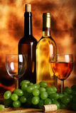 Beautiful wine composition Royalty Free Stock Photography